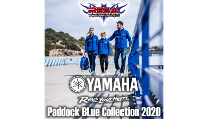 Yamaha Paddock Blue Collectie 2020