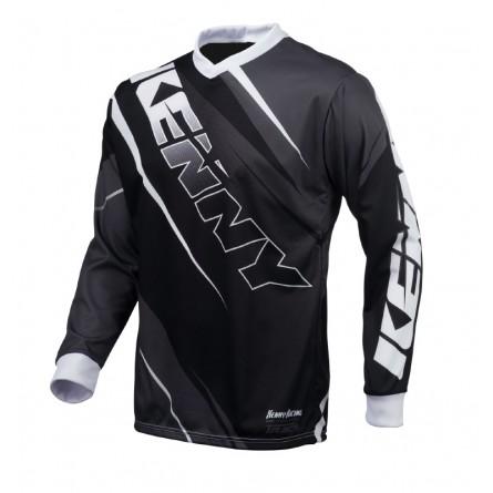 Kenny | Track Cross-shirt Zwart / Grijs
