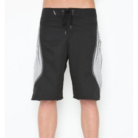 Boys Top Shelf Boardshort Solid Black