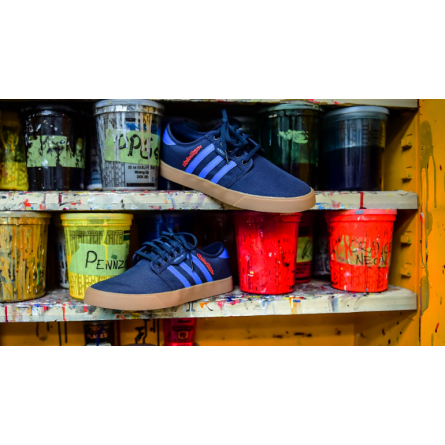 Adidas + Troy Lee | Limited Edition Sportschoen Donkerblauw