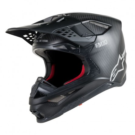 Alpinestars | Crosshelm Supertech S-M10 Zwart Carbon