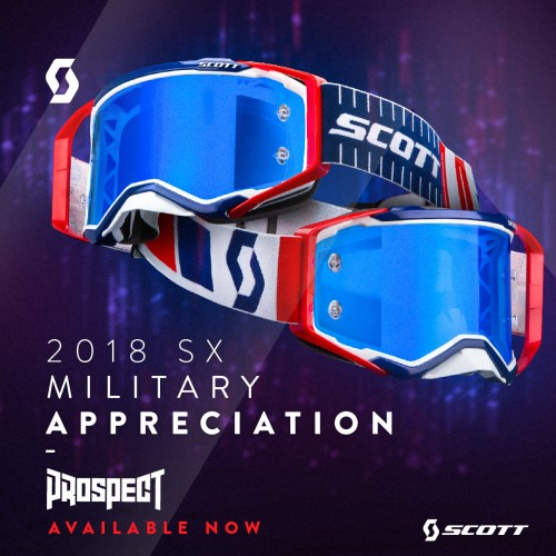 Scott Prospect Limited Edition Military Appreciation Day