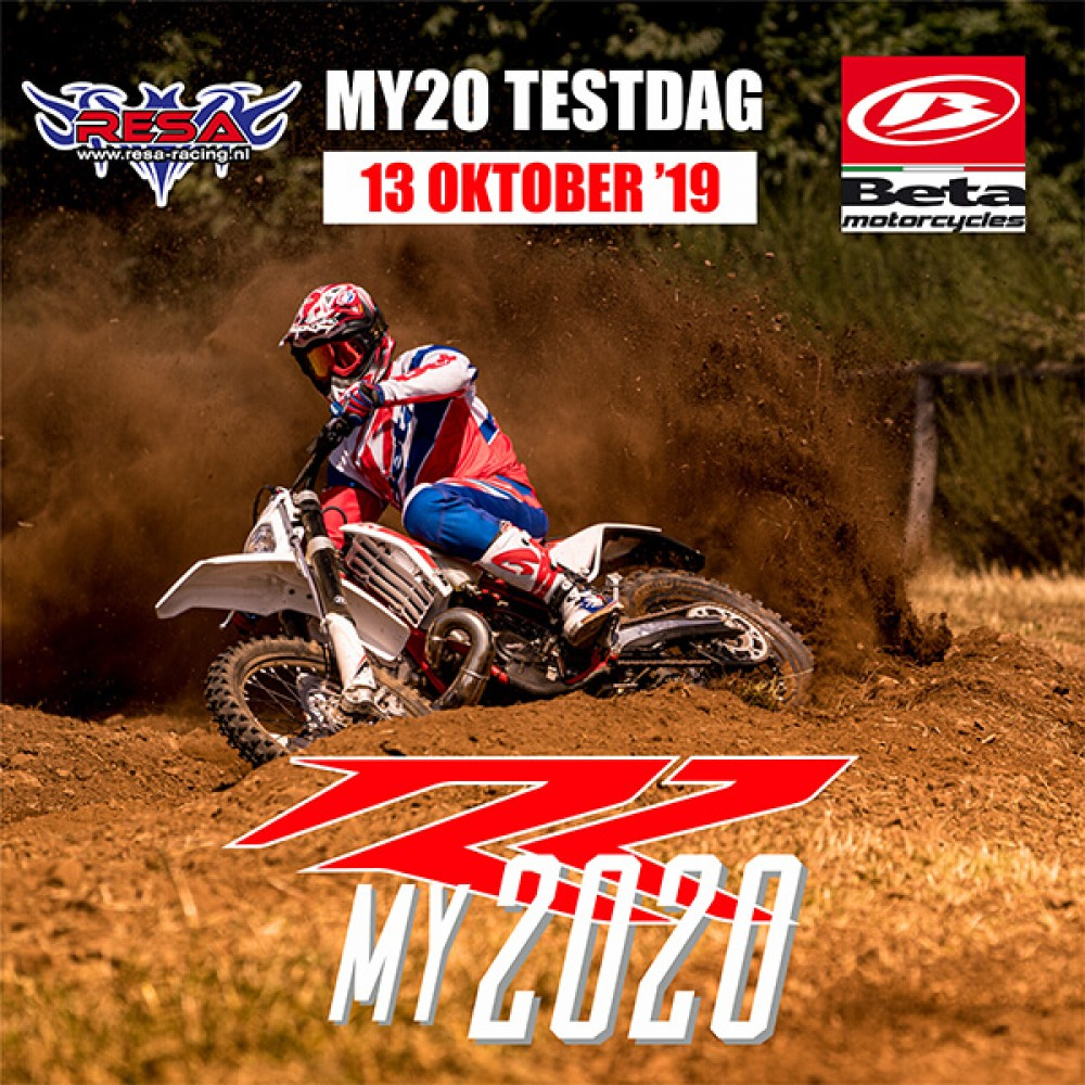 13 Oktober Beta, My20 Testdag bij Resa-Racing