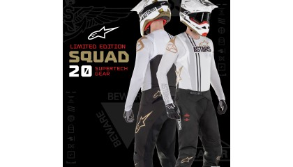Alpinestars Limited Edition 'Squad 20' nu verkrijgbaar bij Resa