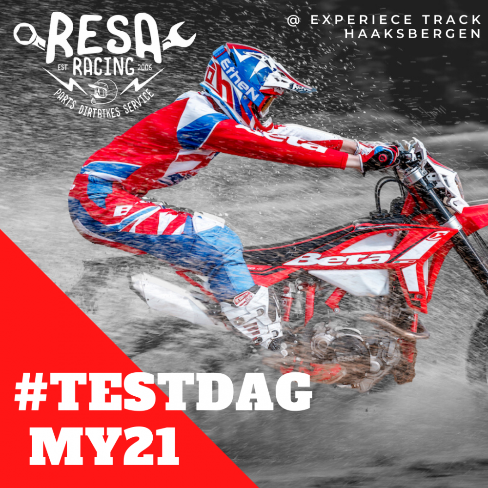 23,24 en 25 Oktober Beta, My21 Testdag bij Resa-Racing