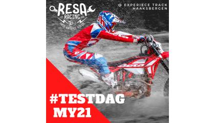 23,24 en 25 Oktober Beta, My21 Testdag bij Resa-Racing