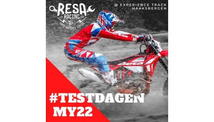 18 t/m 23 oktober BETA MY22 Testdagen bij RESA!