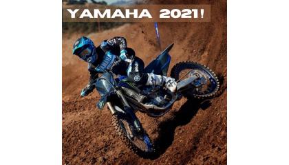 Yamaha scherpt het winnende offroad competitie-assortiment voor 2021 aan!