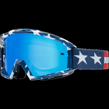 Fox | Main Stripe Crossbril Wit / Rood / Blauw