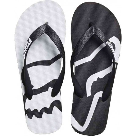 Fox | Beached Slippers Zwart / Wit