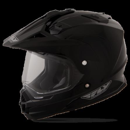 Fly Racing | Trekker Cross Helm Matzwart