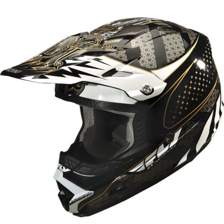 Fly Racing | Trophy Lite Cross Helm Zwart
