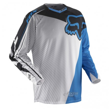 Fox | 360 Flight Cross-Shirt Blauw