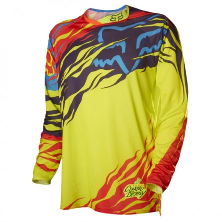 Fox | 360 Forzaken Cross-shirt Geel