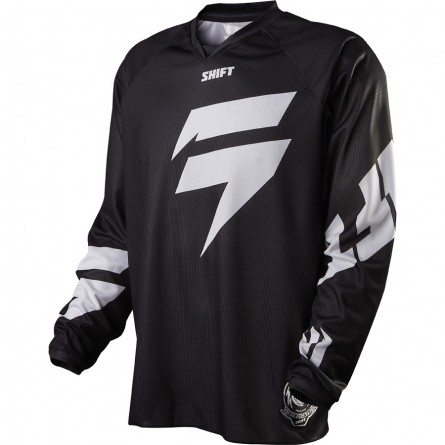 Shift | Recon Logo Cross-shirt Zwart