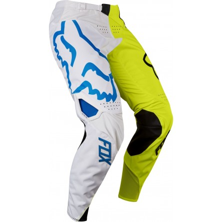 Fox | MX17 Jeugd 360 Creo Crossbroek Wit/ Geel