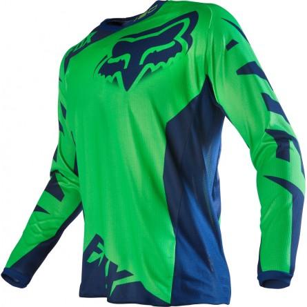 Fox | MX17 180 Race Cross-Shirt Groen