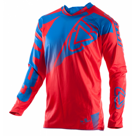 Leatt | GPX 4.5 Lite Cross-Shirt Rood/ Blauw
