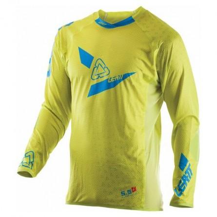 Leatt | GPX 5.5 Ultraweld Cross-Shirt Limoen/ Blauw