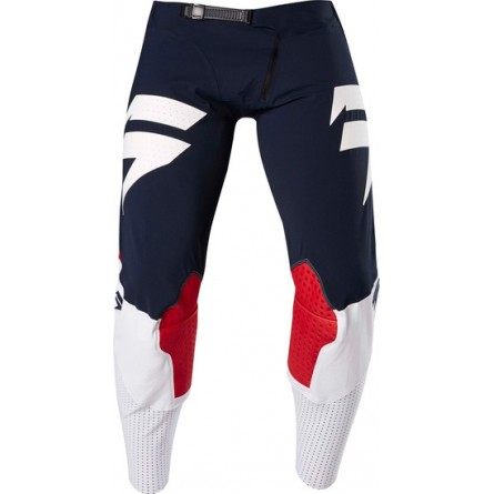 SHIFT | 3LUE LABEL Crossbroek 4TH KIND Donker Blauw / Rood