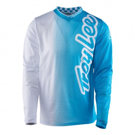 Troy Lee Designs | GP Air Shirt 50/50 Wit/ Blauw