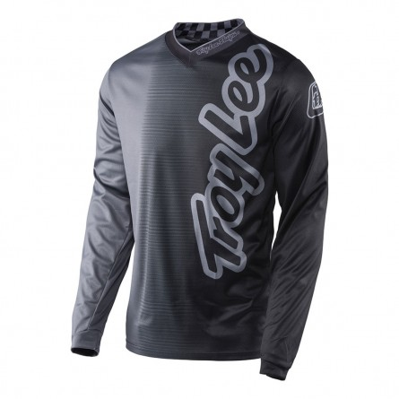 Troy Lee Designs | GP Shirt 50/50 Charcoal