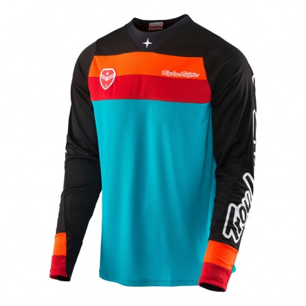 Troy Lee Designs | SE Shirt Corsa Turquoise