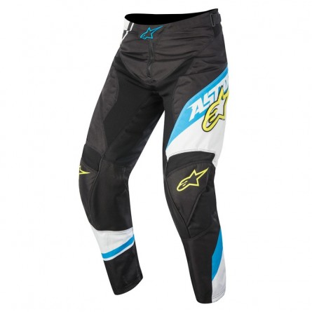 Alpinestars | Racer Supermatic Crossbroek Zwart / Blauw / Wit