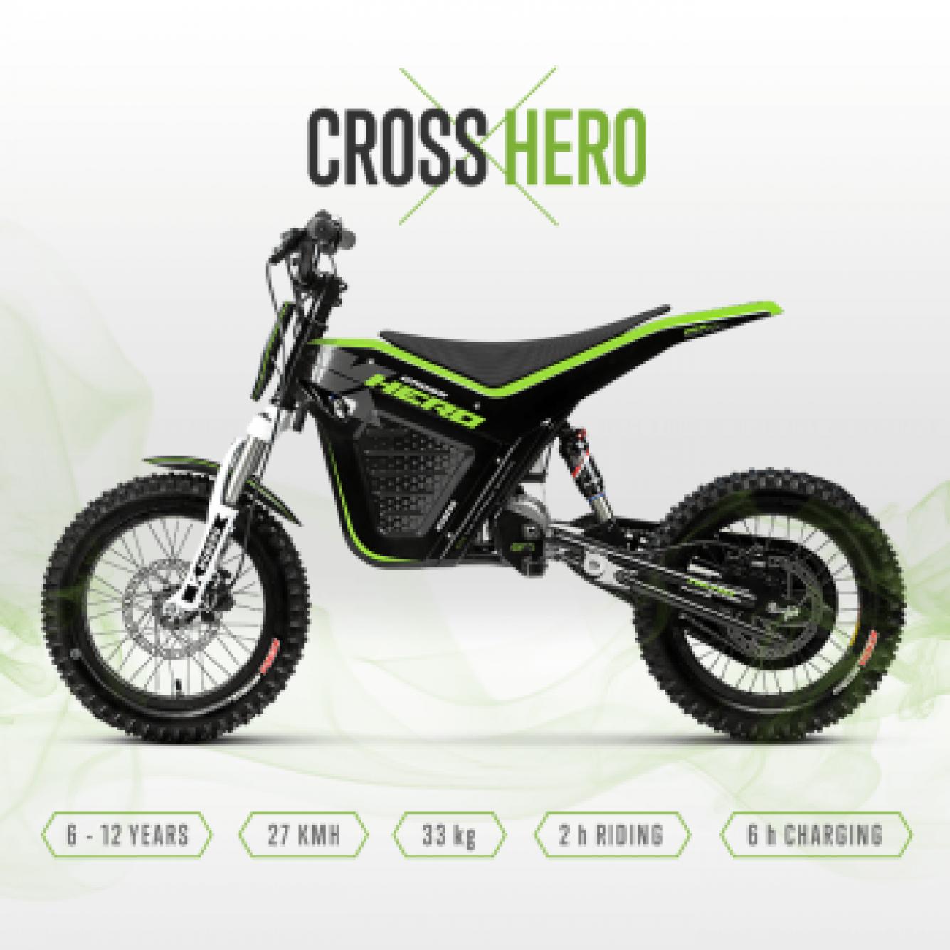 Kuberg Cross Electrische Crossmotor