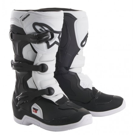 Alpinestars | Crosslaarzen Tech 3S KIDS Zwart / Wit