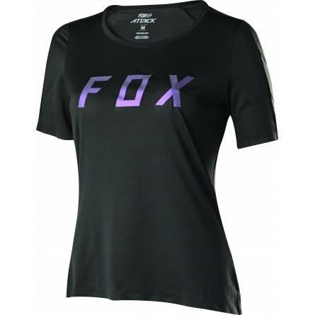 Fox | Attack Dames MTB Shirt Zwart