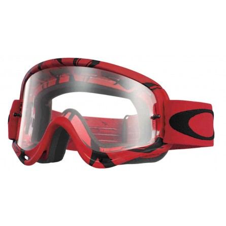 Oakley | O-Frame MX Crossbril Intimidator Red / Black Clear