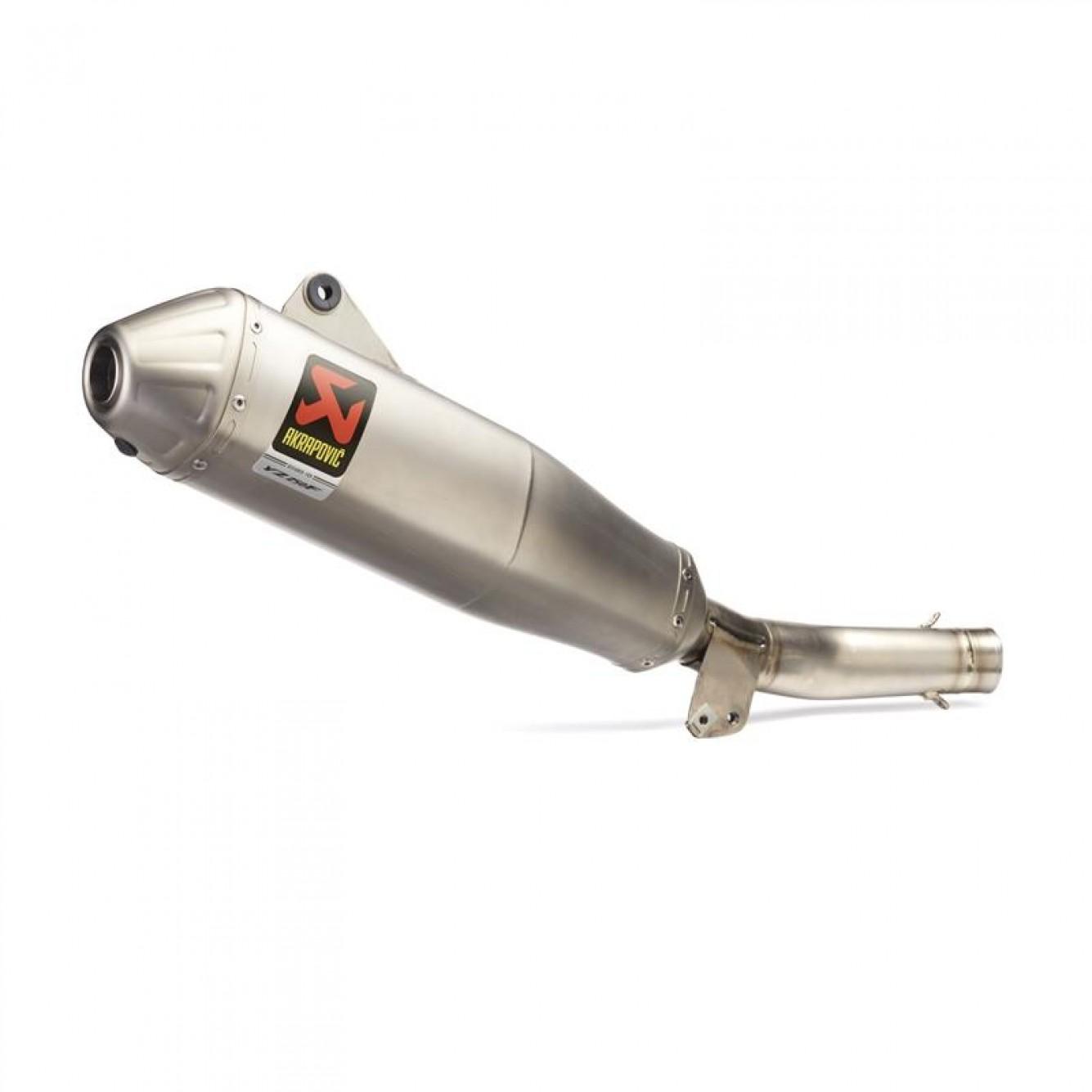 Yamaha | GYTR Slip-on uitlaatdemper Akrapovic Titanium YZ250F