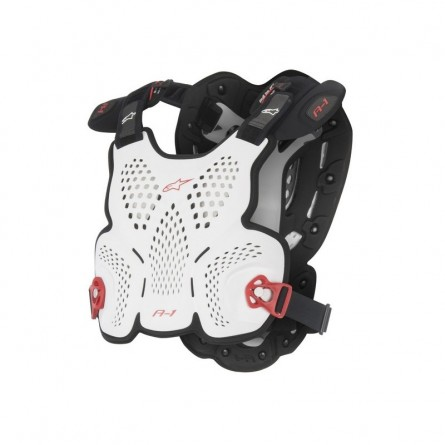 Alpinestars | A1 Body protector (Roost Guard)  Wit/Zwart/Rood