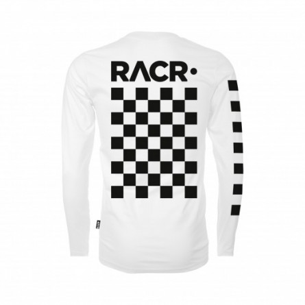 RACR | Longsleeve FLAG wit