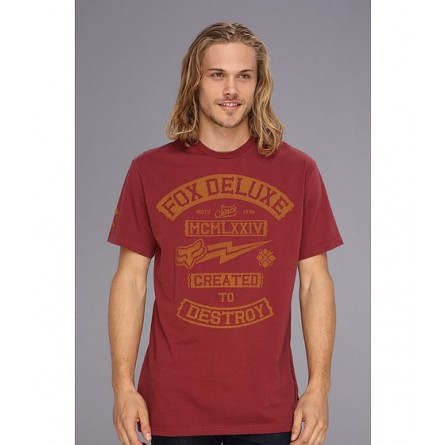 Fox | EverCloak SS Premium Tee Fox Deluxe Pomegranate