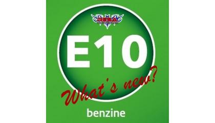 Brandstof E-10, What's new?