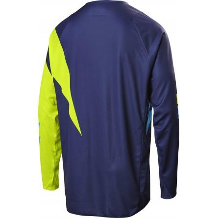 Shift | 3lack Mainline Cross-Shirt Fluor Geel