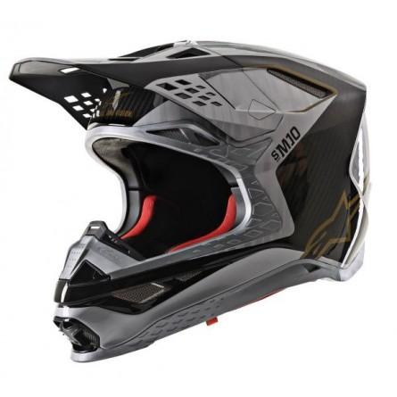 Alpinestars | Supertech S-M10 ALLOY Zilver Zwart Carbon